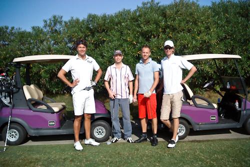 2009-09-20 Binhai golfers