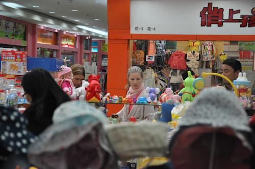 Barnmarknaden, mammorna in action